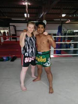 Me and Big - my trainer