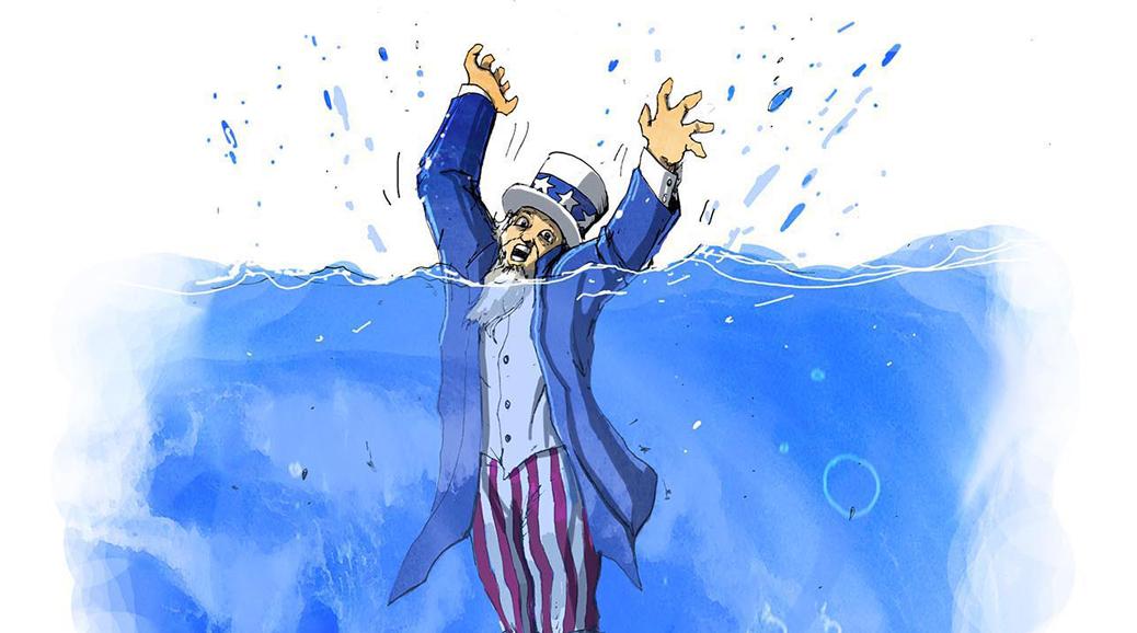 یک قدم تا مرگ امپراتوری امریکا!