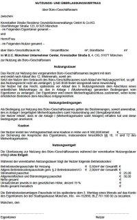 Nutzungs- und berlassungsvertrag - M.U.C.