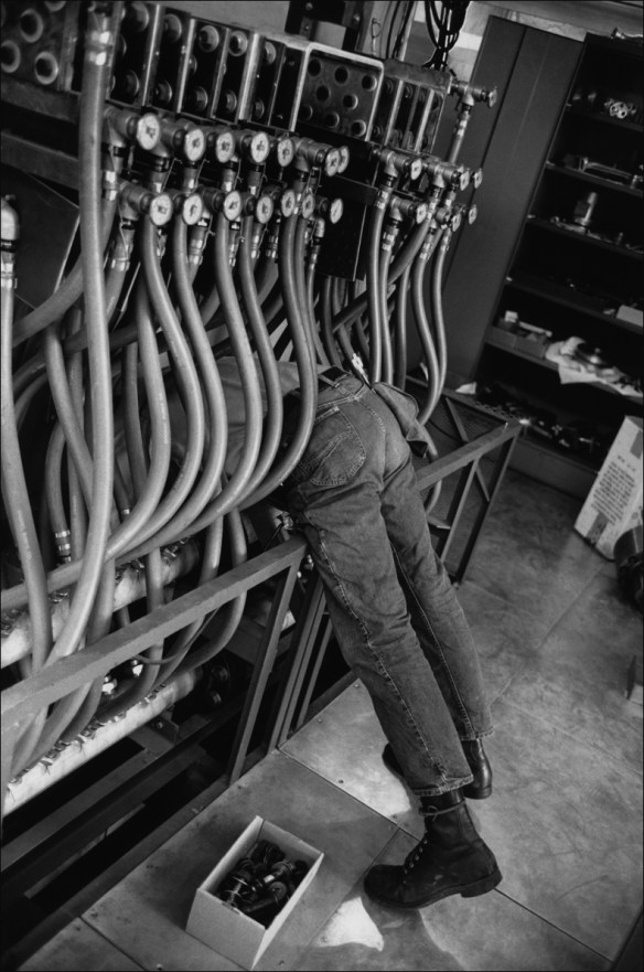 Linear accelerator, Stanford, 1967 © Henri Cartier-Bresson/Magnum Photos courtesy Fondation Henri Cartier-Bresson