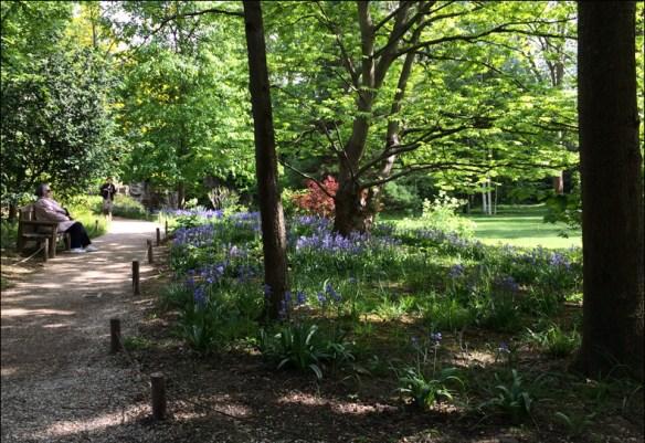 Albert Kahn garden, April; pic: Cynthia Rose