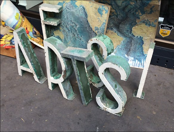 Old letters, brocante, rue Laumière; pic: Cynthia Rose