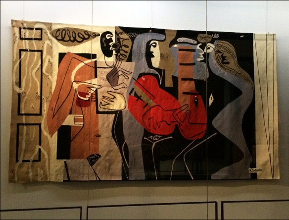 Tapestry by Le Corbusier, pic: Cynthia Rose