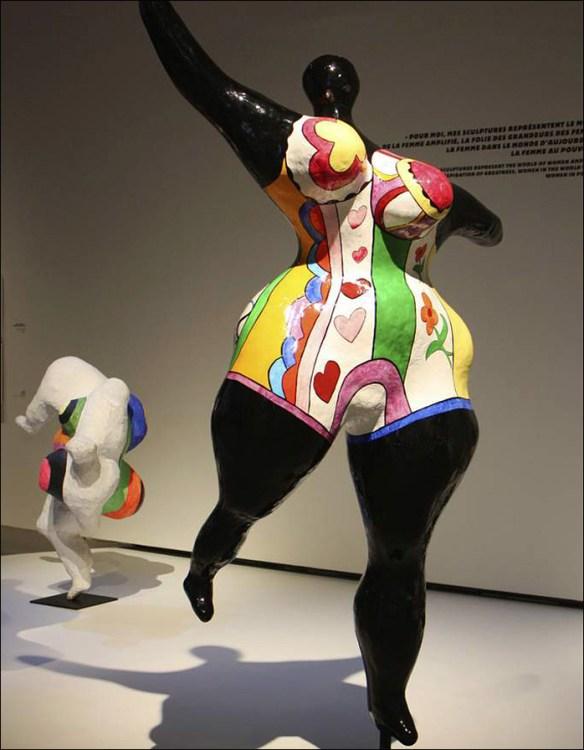 Black Nana, Niki de Saint Phalle; pic: Grand Palais/RMN