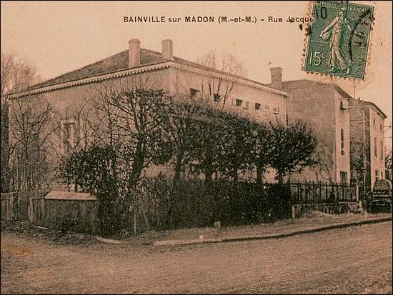 Rue Jacques Callot; Bainville-sur-Madon, Meurthe-et-Moselle, Lorraine