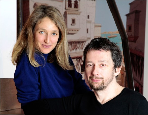 Julie Birmant and Clément Oubrerie, pic: Cécile Gabriel for Dargaud/Dargaud