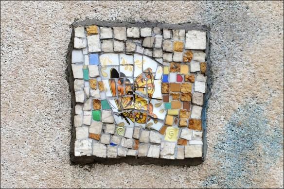 Mosaic by Jérôme Gulon at Odéon; pic: Cynthia Rose