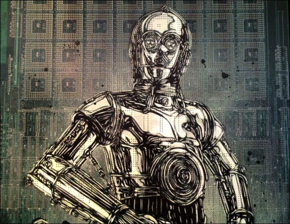 C-3PO by C215 © Christian Guémy