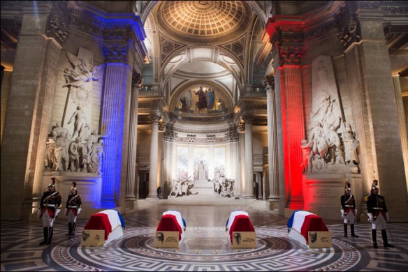 Inside the Panthéon; pic © Jean-Baptiste Gurliat/Mairie de Paris