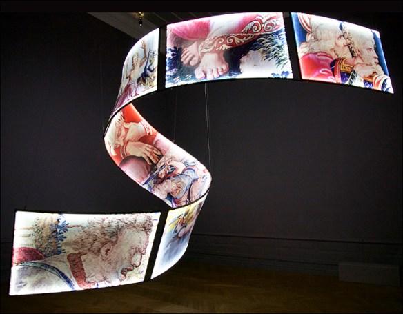 Carte Blanche by Olivier Roller, Manufacture des Gobelins; pic: Steve Sampson