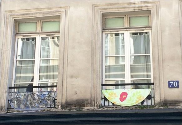 Window, rue François Miron; pic: Cynthia Rose