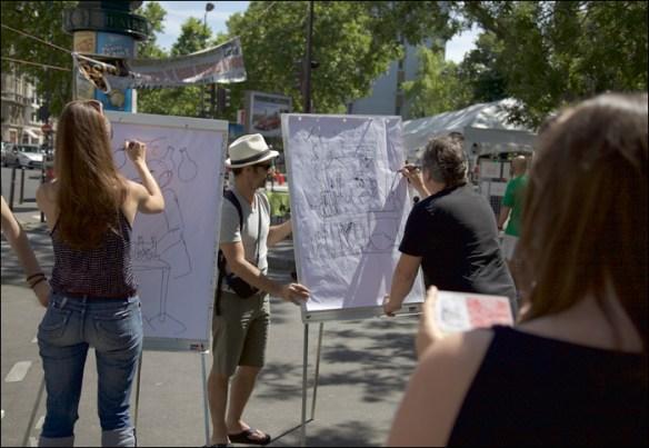 Drawing contest, Festiv'Nation; pic; Steve Sampson