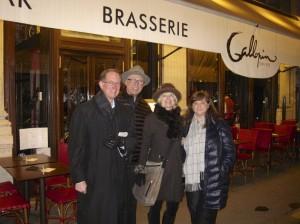 Hugh, Jeff, Brenda, Carrie in front of Gallopin