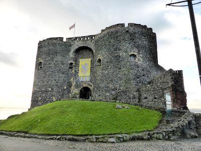 Norman castle at Carrickfergus