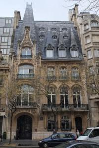 Site of Nobel's former Paris house on Avenue Raymond Poincaré