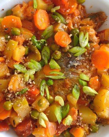 chicharro en salsa coreana