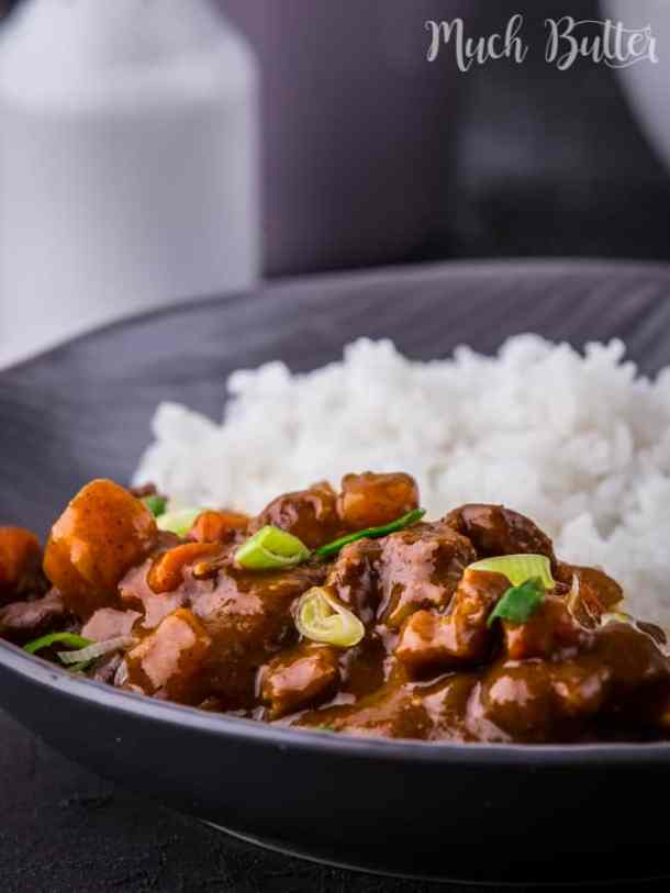 Japanese beef curry from scratch! Learn how to make it better on our blog.