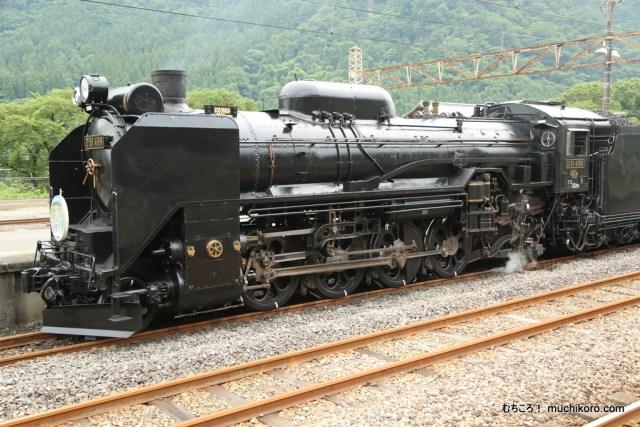 D51蒸気機関車498号機