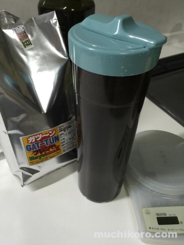 アイスコーヒーの仕込み