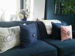 New pillows for the couch ~ Pottery Barn.