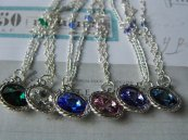 ~ These are the swarovski birthstone necklaces ~