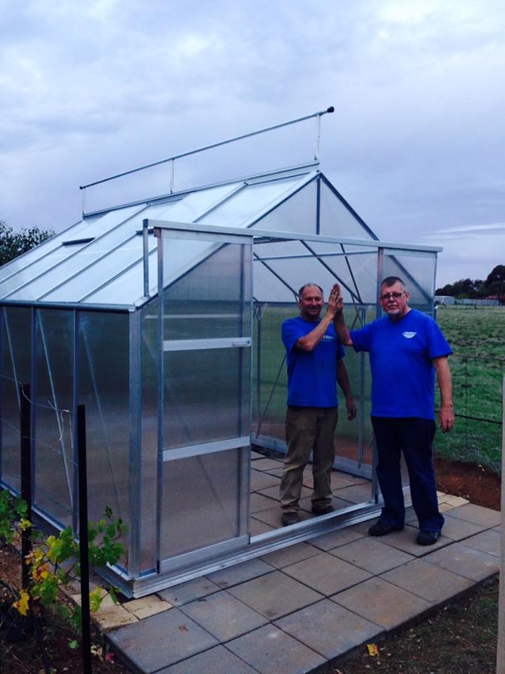 Greenhouse – construction completed