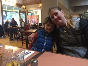 Patricia and Markus at Olinda cafe