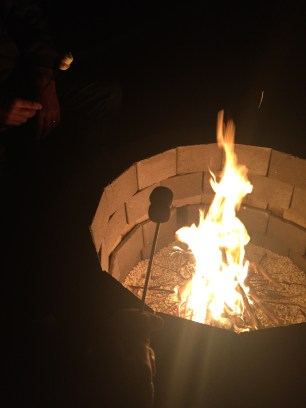 fire - marshmallows