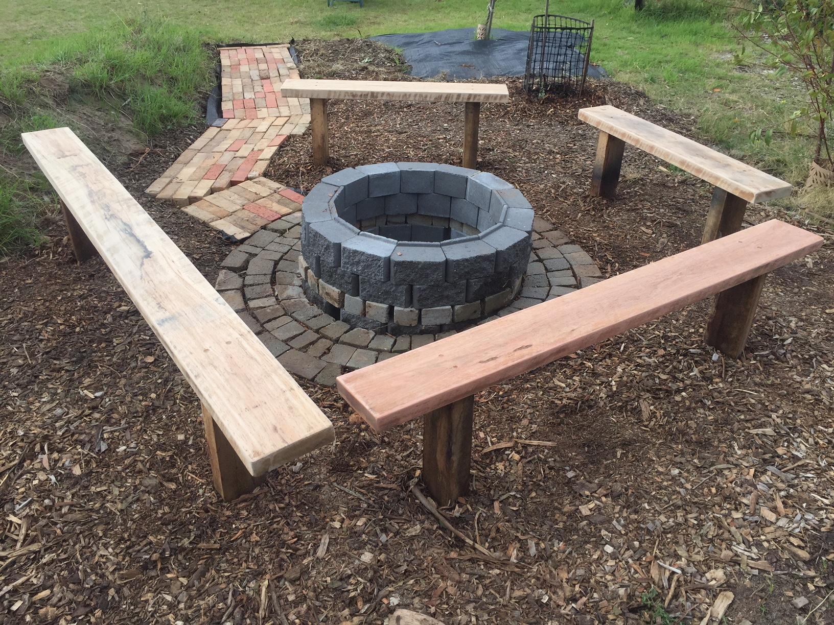 Fire – pit done 1