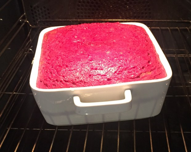 Beetroot yogurt cake