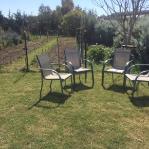 Seating - chook area