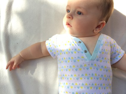 Love his baby blues