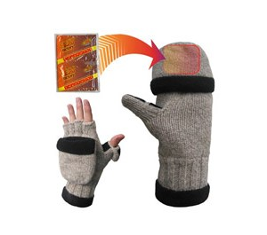 Heat Factory Wool Gloves Hand Warmer