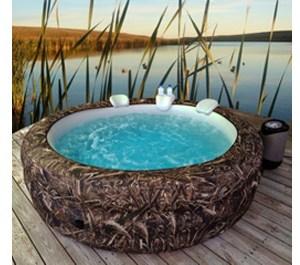 Vanish Spa 6-person Portable Hot Tub Realtree Max5