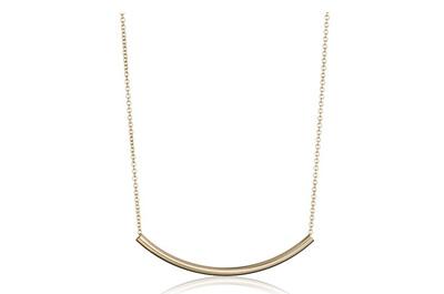 Dogeared Balance Tube Bar Necklace