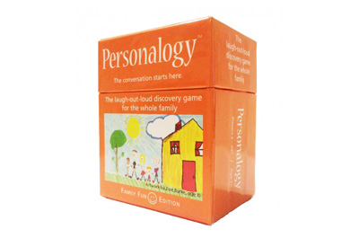 Personalogy Family Fun Card Game