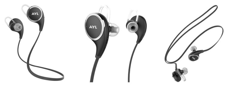 AYL Bluetooth 4.1 Wireless Sport Headphones