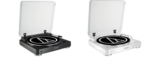 Audio Technica AT-LP60BK Fully Automatic Belt-Drive Stereo Turntable