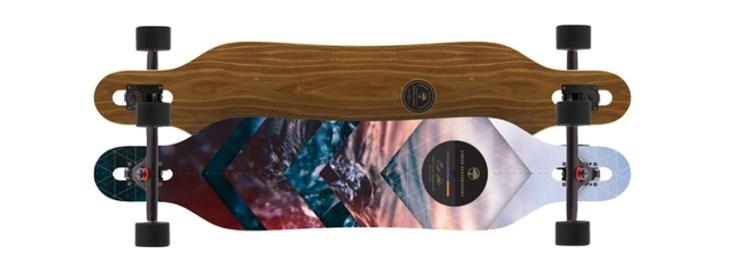 Arbor Axis Walnut Longboard