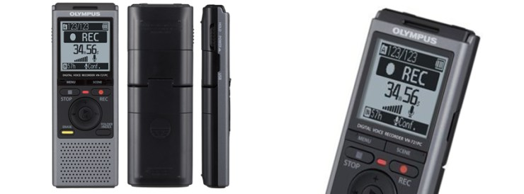 Olympus VN-721 Portable Voice Recorder