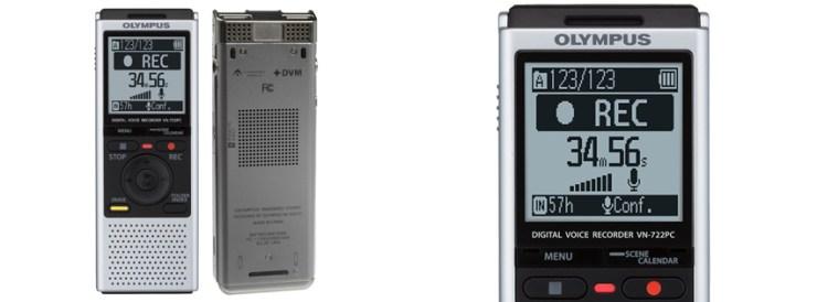 Olympus VN-722PC Voice Recorder