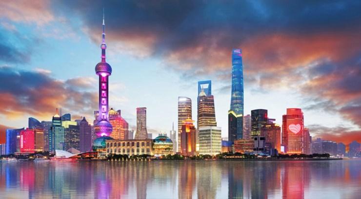 Shanghai, China GDP Ranking
