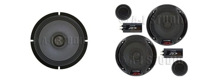 Alpine SPR C Car Audio Component System