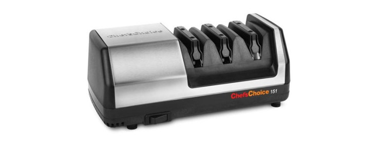 Chef s Choice Model Stainless Steel Universal Electric Knife Sharpener