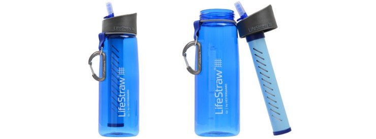 LifeStraw Go Water Bottle with Integrated Liter LifeStraw Filter