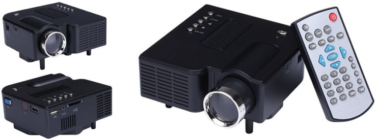 Portable Mini Hd LED Projector