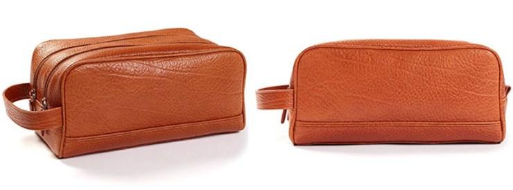 Best Leatherology Double Zip Toiletry Bag