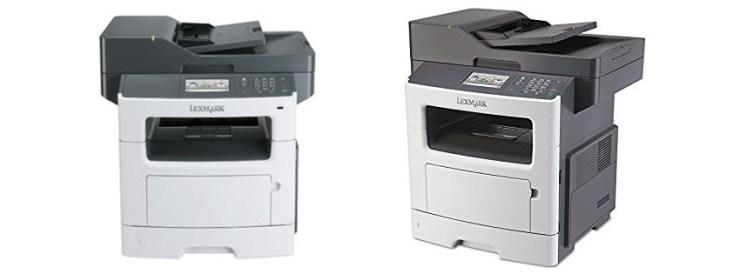 Lexmark MXde BW multifunction fax copier printer scanner