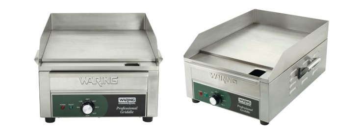 Waring Commercial WGR Electric Countertop Griddle