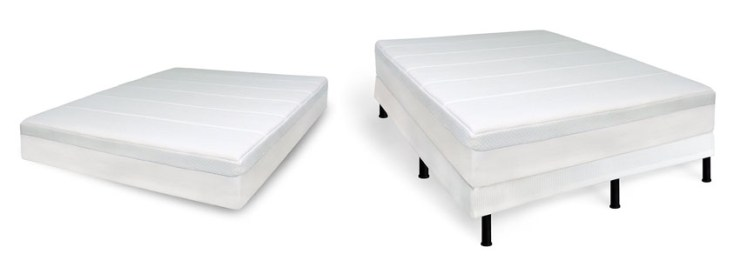 Sensor Pedic Luxury Extraordinaire Inch Luxury Memory Foam Mattress White Queen